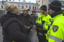 Městští strážníci v Brně