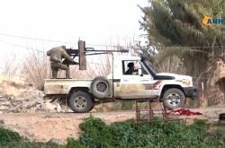 Bojovníci na východě Sýrie