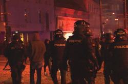 Zásah policistů v Plzni