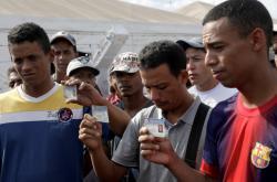 Dezertéři z venezuelských ozbrojených složek