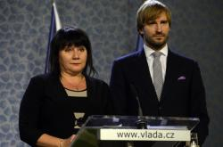 Ministři Alena Schillerová a Adam Vojtěch