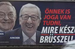 Kampaň maďarské vlády proti předsedovi EK Junckerovi