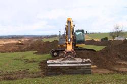 Přípravné práce k výstavbě dálnice D3