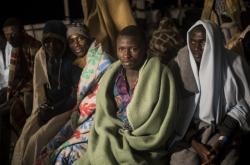 Migranti zachycení ve Středozemním moři
