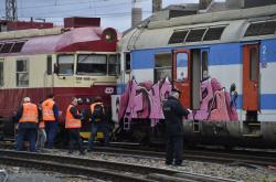 Srážka vlaků v Brně