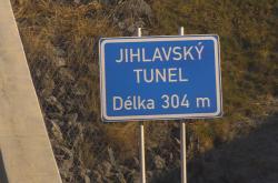 Jihlavský tunel spojuje dálnici D1 s hlavní trasou na Znojmo a Vídeň