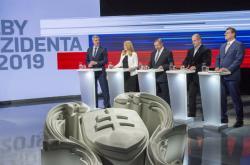 Pět předních uchazečů o post slovenského prezidenta před poslední debatou