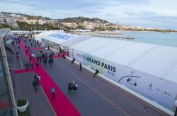 Část veletrhu nemovitostí MIPIM v Cannes