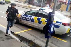 Zásah policistů v Christchurchi