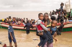 Následky cyklony Idai v Mosambiku