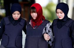 Doan Thi Huong odchází od soudu