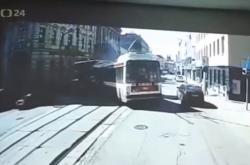 Nehoda v Brně na videozáznamu