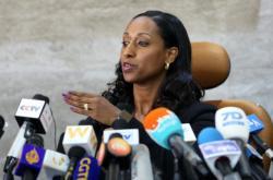 Etiopská ministryně dopravy Dagmawit Mogesová