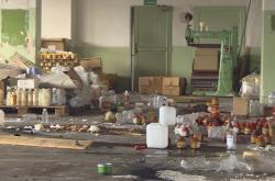 Bývalá výrobna chemie obsahuje nebezpečné látky