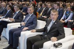Andrej Babiš na setkání s podnikateli v Dubrovníku