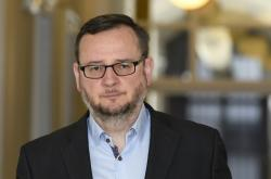 Petr Nečas u soudu 16. dubna 2019