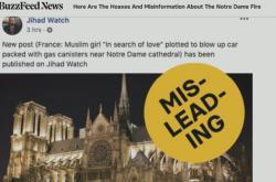 Falešné zprávy o požáru Notre-Dame na sociálních sítích