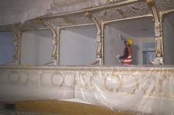 Rekonstrukce budovy Státní opery v Praze (duben 2019)