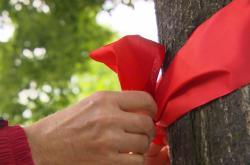 Červené mašle mají upozornit na podfinancování sester domácí péče