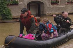 Povodně v ostravské Nové Vsi v roce 1997
