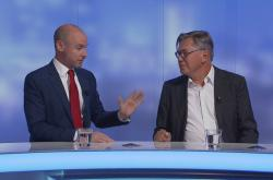 Daniel Hannan a Libor Rouček v Událostech, komentářích