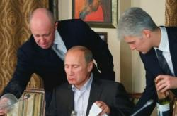 Jevgenij Prigožin a Vladimir Putin