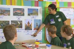 Děti z Dyjákovic a Wulzeshofenu se učí společně