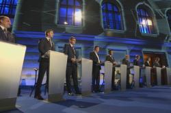 Závěrečná předvolební debata předsedů politických stran a hnutí zastoupených v Poslanecké sněmovně