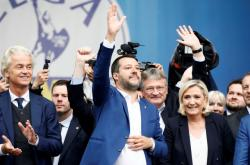 Setkání představitelů nacionalistických stran v Miláně