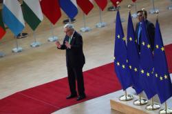 Jean-Claude Juncker na summitu k výběru jeho nástupce