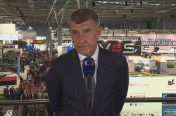 Andrej Babiš na veletrhu IDET