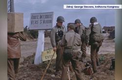 Američtí filmaři v Evropě během druhé světové války