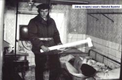 Rekonstrukce činu, za který padl poslední trest smrti v Československu