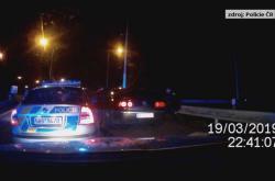 Policejní honička v Brně