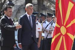 Premiéři Zoran Zaev a Andrej Babiš v Severní Makedonii