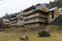 Apartmánový dům ve Špindlerově Mlýně naproti Medvědínu