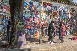 Lennonova zeď (leden 2018)