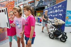 Děti v plzeňském muzeu Techmania Science Center