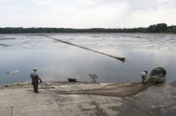 Likvidace ryb nakažených herpes vierem v rybníce Buňkov