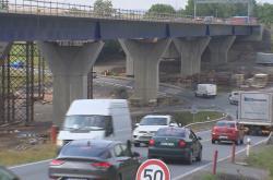 Dopravu nejvíce zpomaluje oprava mostu u Libhoště