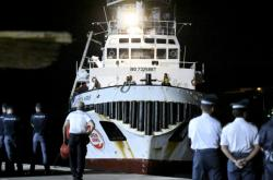 Loď Open Arms zakotvila v přístavu Lampedusa