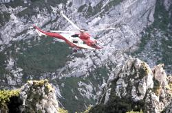 Záchranný vrtulník v Tatrách