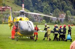 Záchranáři zasahovali po silné bouřce v polských Tatrách