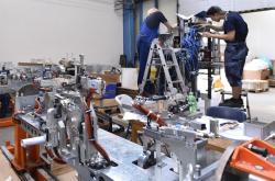 Výroba v továrně DEL