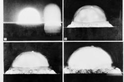 Vůbec první test jaderné zbraně na světě