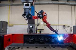 Výroba společnosti Nordic Steel na Novojičínsku