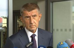 Andrej Babiš v pondělí komentoval dění kolem kauzy Čapí hnízdo