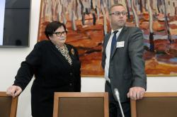 Ministryně spravedlnosti Benešová a nejvyšší státní zástupce Zeman