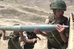 Ruští vojáci na cvičení Střed 2019