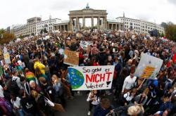Berlínská demonstrace kvůli klimatu